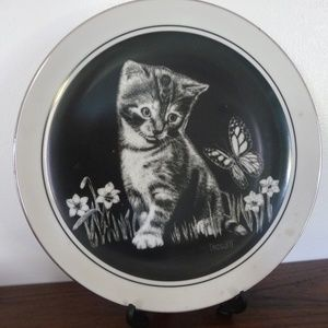 Kittens World Plate by Dougett